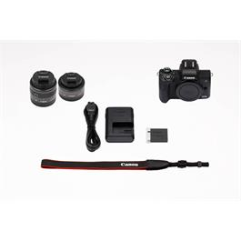 Canon EOS M50 With EF-M 15-45mm & EF-M 22mm Lenses Twin Kit - Black Thumbnail Image 12